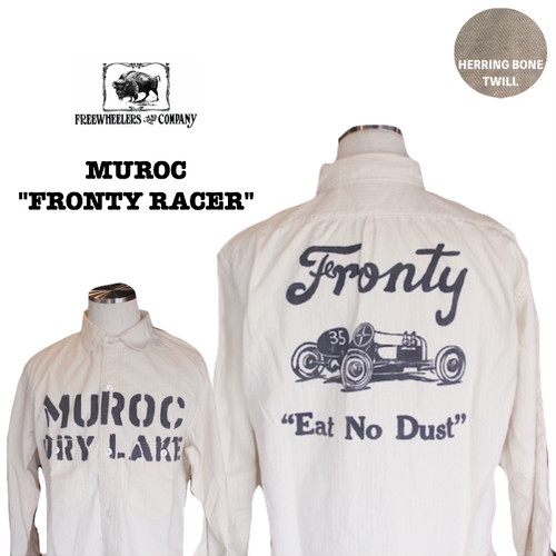 "FREEWHEELERS / フリーホイーラーズ UNION SPECIAL OVERALLS  ""MUROC"" Fronty Racer"