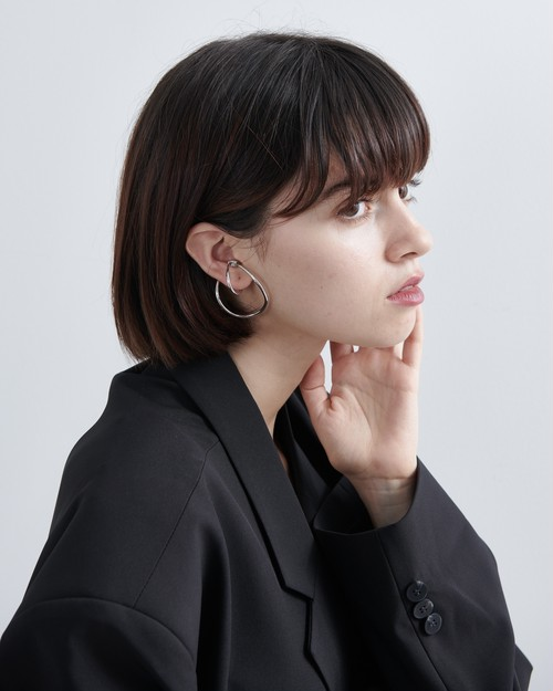 CIRCLE SHAPE EAR CUFFS