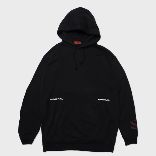 """""""immoral""""OVERSIZE HOODIE"""