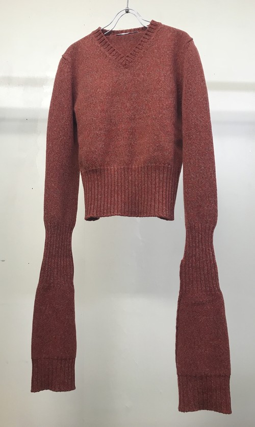 AW2000 HUSSEIN CHALAYAN EXTENDED SLEEVE SWEATER