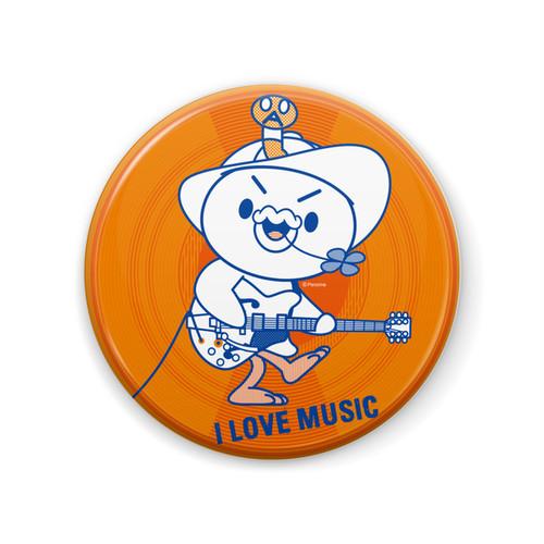 PERORINE I love music B 缶バッジ