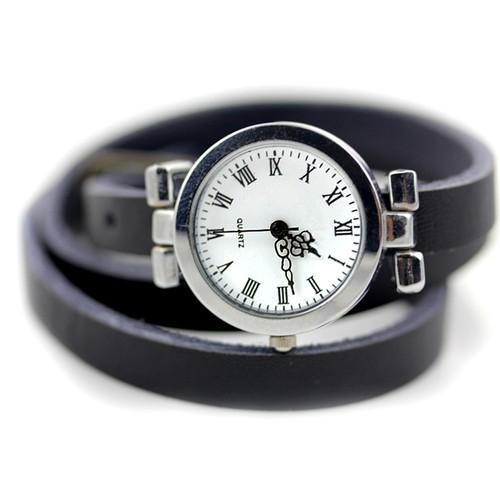 女性用 おしゃれ皮腕時計