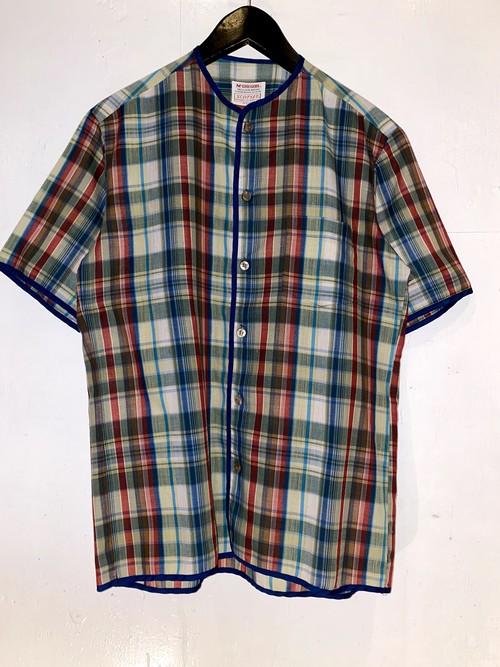 McGREGOR ノーカラーシャツ