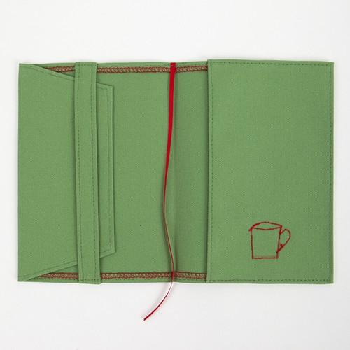 ブックカバー(文庫版サイズ)グリーン