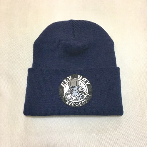 FLY BOY RECORDS Beanie (NVY)