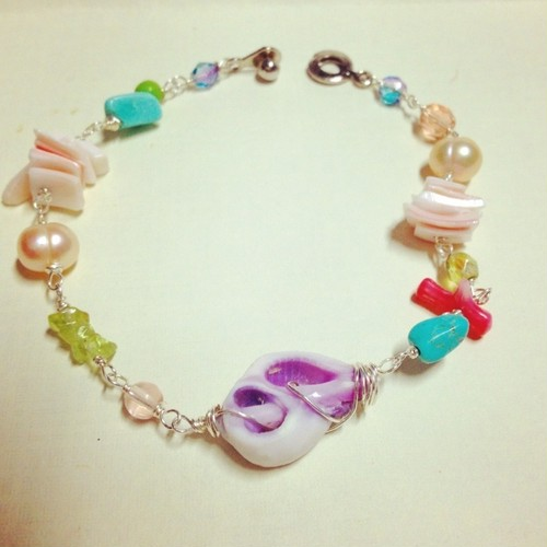 hawaii shells & bracelet
