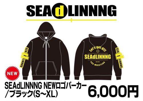 NEW★SEAdLINNNG NEWロゴ パーカー
