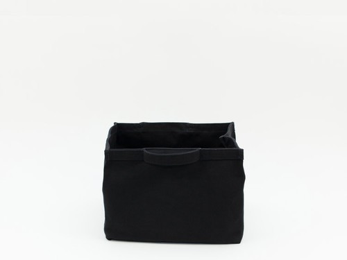 SMALL STRAGE TOTE - BLACK