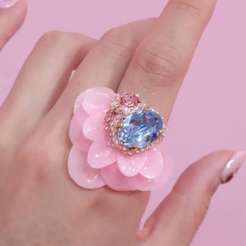 【リング.9】phantomFLOWER crystal