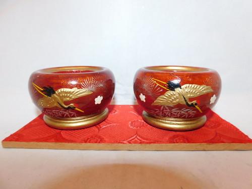 お雛様のお道具(火鉢) Hibachi pair( No14)