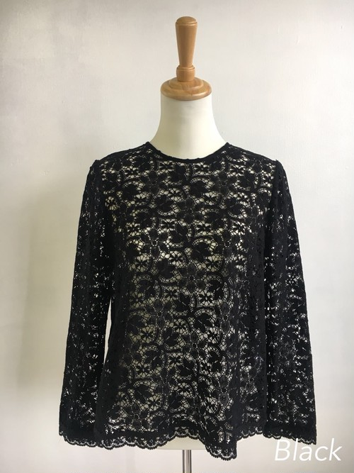 Bilitis dix-sept ans (ビリティス・ディセッタン)    Cluny Lace Blouse 2018AW