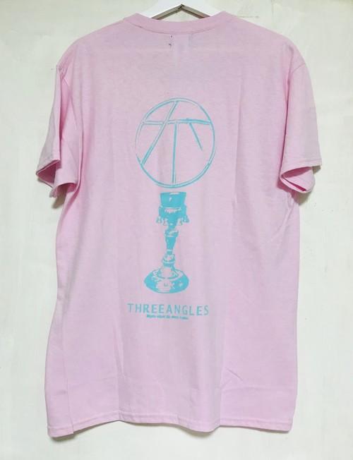 刺繍&print tee -漢字sapling&seihai-