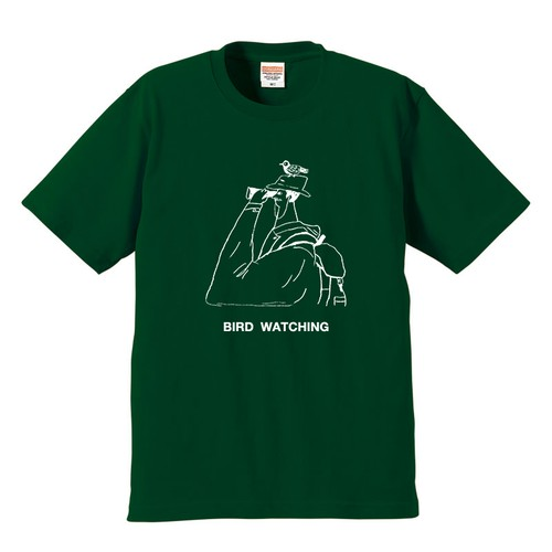 Tシャツ バードウォッチング