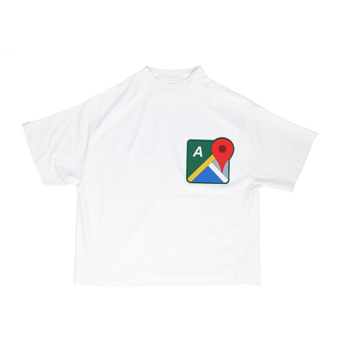 MAP T-SHIRTS / WHITE