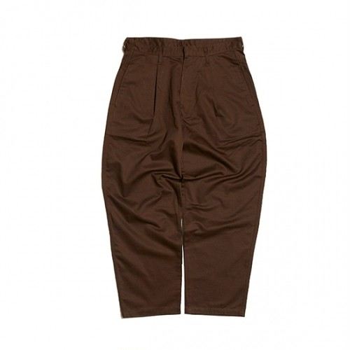 HELLRAZOR / EASY TROUSERS / BROWN / M