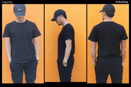 EPTM/エピトミ/ロングレングス/Tシャツ/BLACK