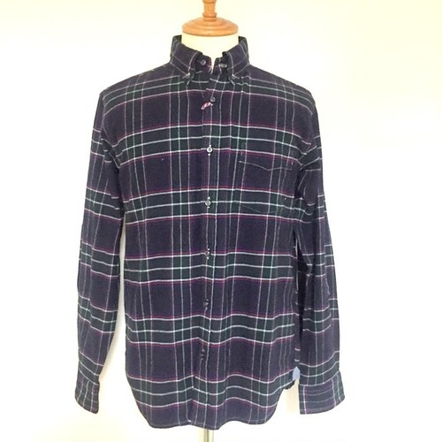 Natural Stretch Check BD Shirts Green
