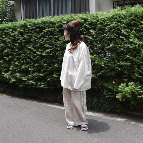 長袖プルオーバー/nusumigui×tojikomi
