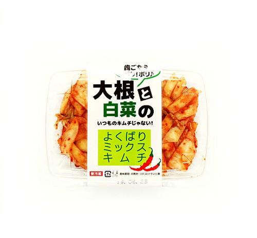よくばりミックスキムチ 大根&白菜