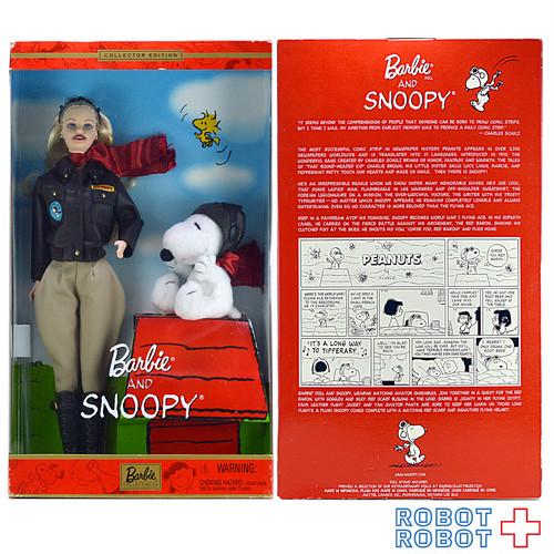 バービー & スヌーピー コレクターエディションドール