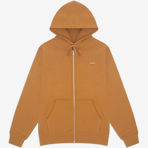 Lightweight Zip-Up Hoodie(Cathay Spice)