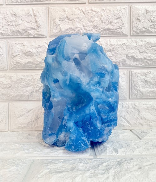 ODER GEMSTONE BIG CANDLE BLUE / 21 - 22 AUTUMN WINTER COLLECTION