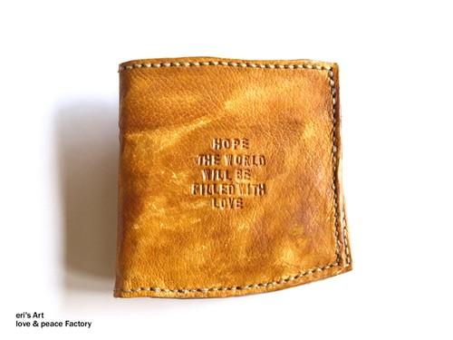 二つ折り財布 LE-1154