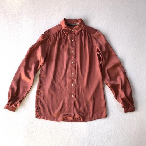 GEORGE MARKET | shiny L/S blouse (V5054A)