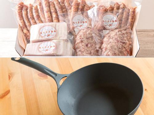 ディープパンとGIFTON 四種のグルメセット