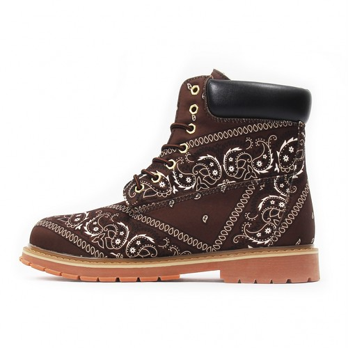 NOT FOR SALE Paisley Boots BROWN