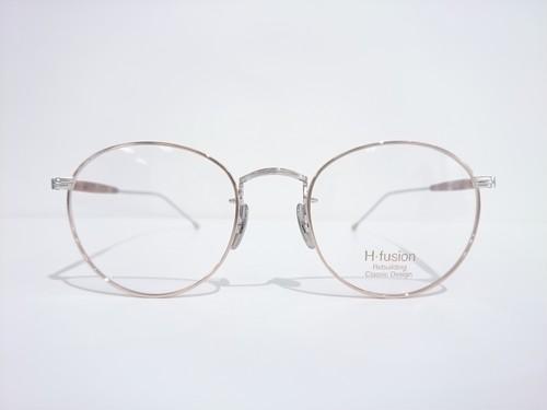 H-fusion HF-504  03.GOLD RIM/SILVER