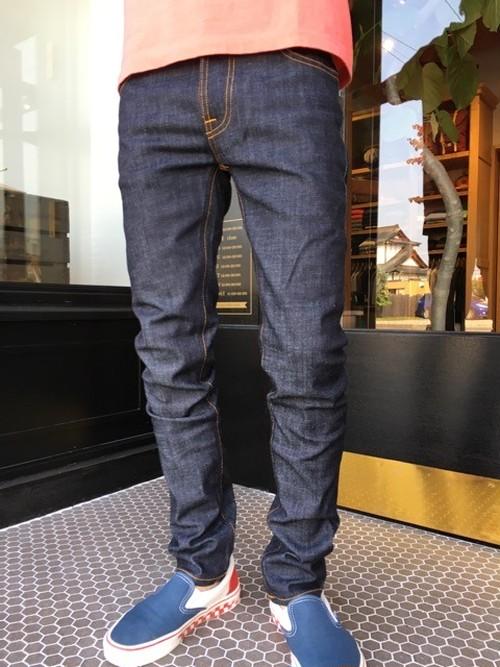 Nudie Jeans ヌーディージーンズ THIN FINN シンフィン DRY TWILL(934)