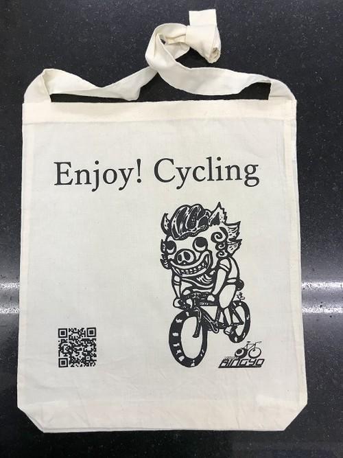 「Enjoy! Cycling」サコッシュ