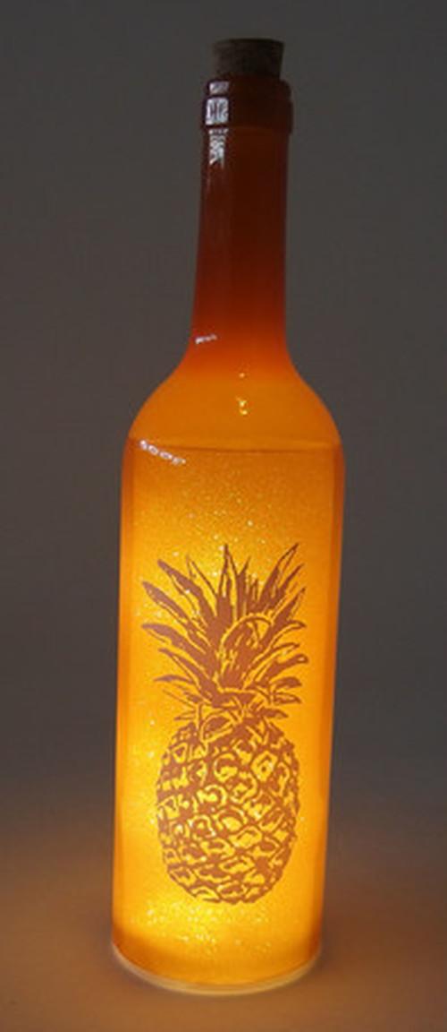 ボトルドライト パイナップル  オレンジ