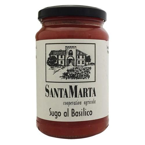 サンタ・マルタ トマトとバジリコのソース 340g