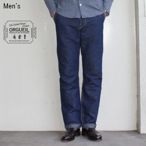 ORGUEIL リネンデニムトラウザー Linen Denim Trousers OR-1040B (ONE WASH)