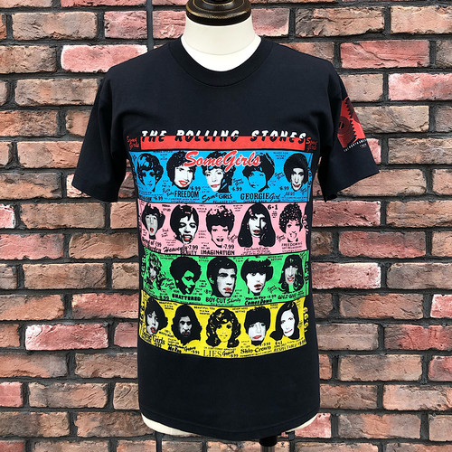 Vintage The Rolling Stones 1989 North American Tour T Shirt