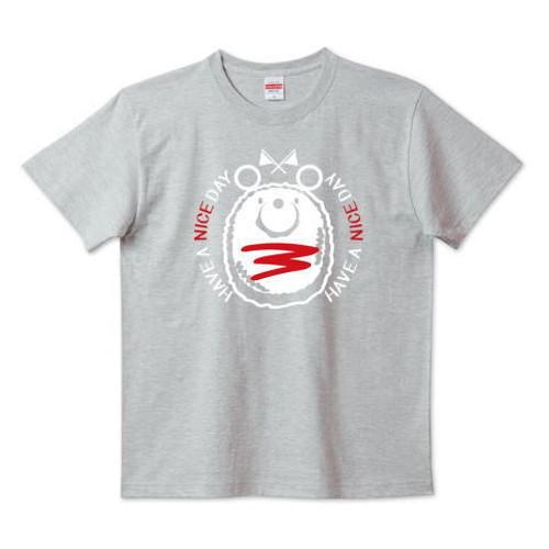 キャラT34 たこさんwinなー ミニハンバーグのナイスくん* 5.6ハイクオリティーTシャツ(United Athle)