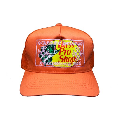 CANT CLOTHING Chrome Bass Trucker Hat ORANGE