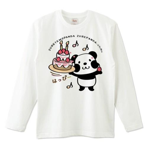 キャラT55 ズレぱんだちゃんとはっぴーA *5.6オンスロングTシャツ (Printstar)