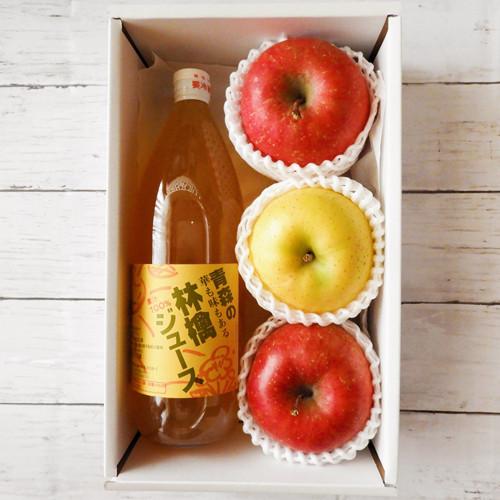 お試しセット(季節のりんご&ジュース)