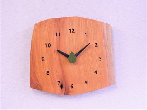 ケヤキ 森の掛け時計