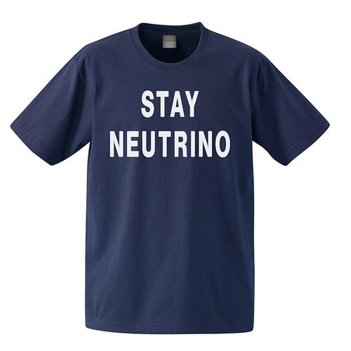 STAYNEUTRINO半袖Tシャツ(ネービー)