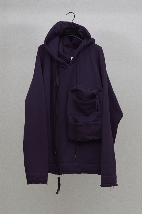 【HUMIS】DEFORMATION MILITARY RAGLAN SWEAT PARKA