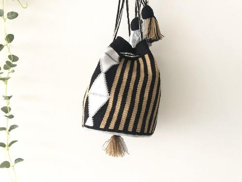 ワユーバッグ(Wayuu bag) Exclusive line Sサイズ Kinchaku mini