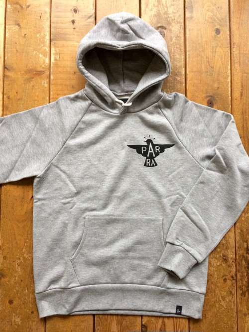 [ by Parra ] jackdaw logo hooded
