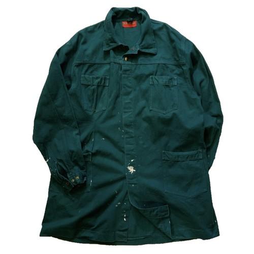 Euro work shop coat ショップコート 雰囲気重視