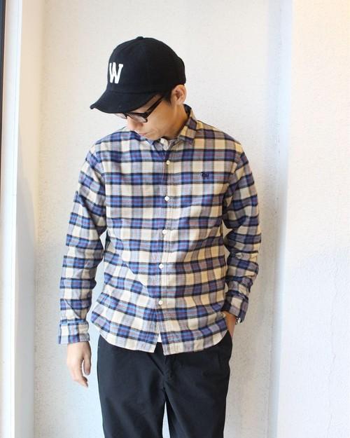 weac (ウィーク) / Pugchan Shirts(パグチャン シャツ)ベージュ