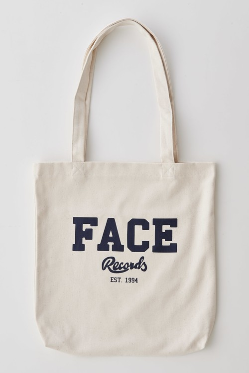 FACE RECORDS TOTE BAG