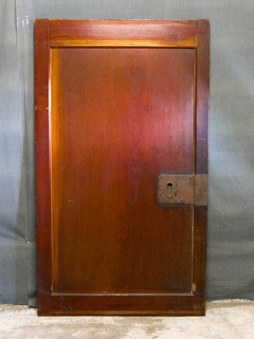 欅一枚板蔵戸